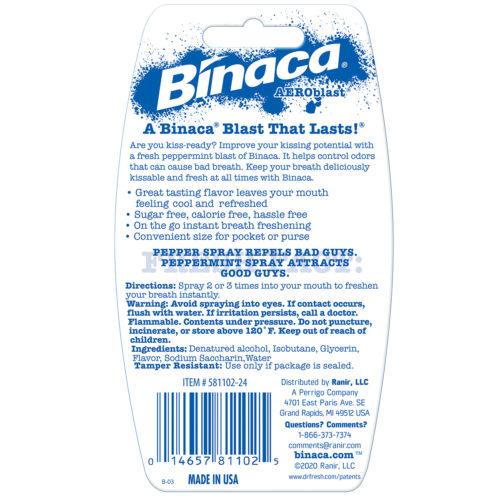 Binaca Breath Spray Peppermint