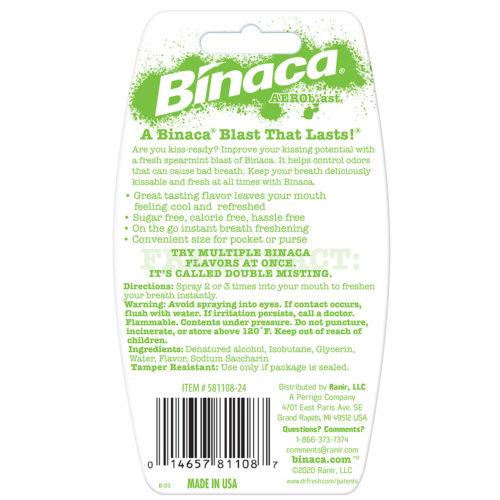 Binaca Breath Spray Spearmint